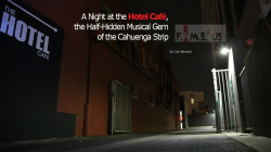 """A Night at the Hotel Café, the Half-Hidden Musical Gem of the Cahuenga Strip"""