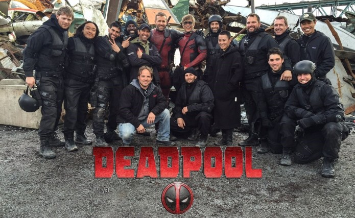 Deadpool Stunts