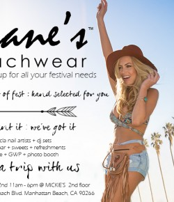 Diane's Beachwear Desert Pop-Up