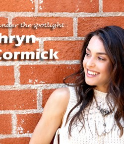 Dancing under the spotlight: Kathryn McCormick